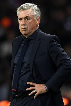 Carlo Ancelotti is not a happy man