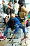 CISF Indira Gandhi International airport gold paste frisking passenger XRay