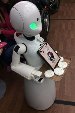 Dawn Cafe robots