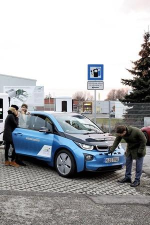 Electric Vehicle BMW Porsche Charging Stations Superchargers Technology News Auto News