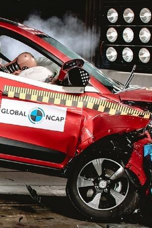 Global NCAP Crash Test Results Indian Cars Safety Tata Nexon 5 Star Safety Rating Indian Car Cr