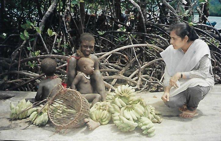 John Allen Chau, Madhumala Chattopadhyay, Andamans and Nicobar, Sentinelese