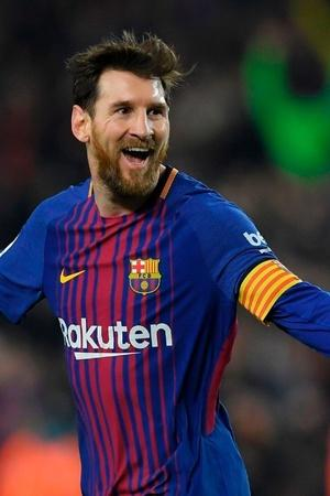 Lionel Messi tops the charts