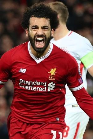 Mohamed Salah loves to score