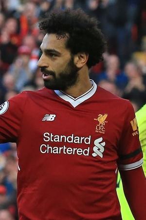 Mohamed Salah scored thrice