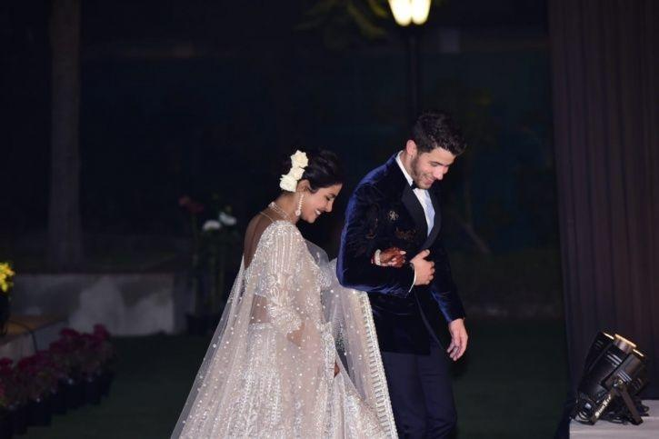 Presenting Mr & Mrs Jonas! Priyanka Chopra & Nick Arrive At Their Wedding Reception In Delhi