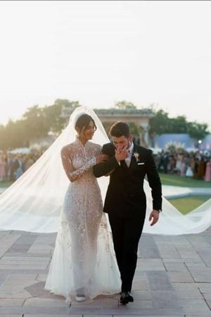 Priyanka Chopra Nick Jonas Nicholas Jonas Priyanka and Nick Priyanka Nick Wedding NY Mag Mriah
