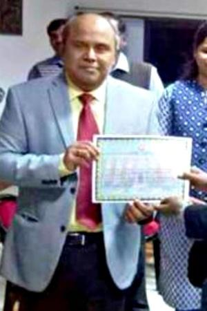 Railway Ticket Inspector From WB Has Been Conferred Sahitya Akademi Award For His Novel Marom