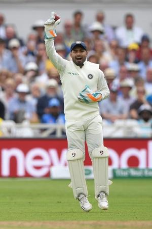 Rishabh Pant was very active verbally