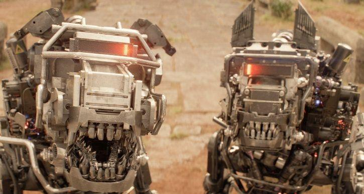 robot dogs from kingsman the circle movie