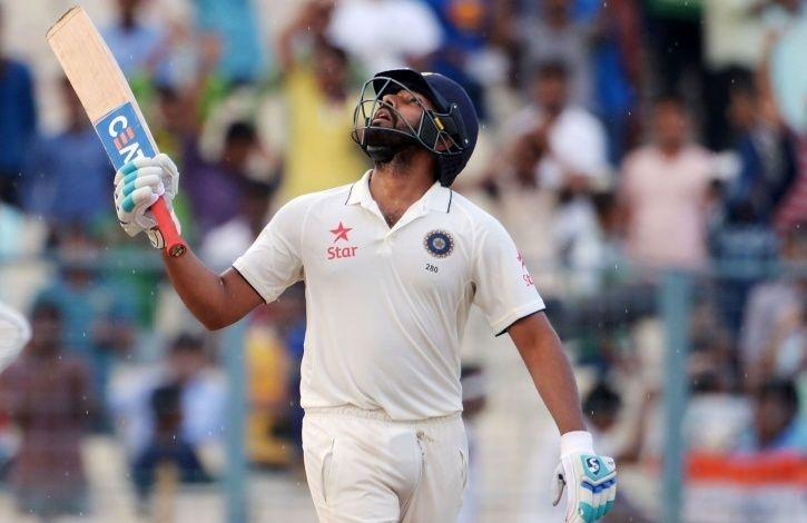 Rohit Sharma might play the first Test