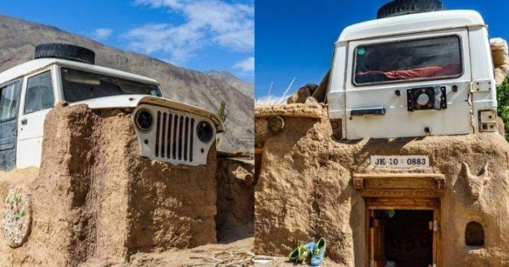 Here S The Real Story Behind Car Roof At Sonam Wangchuk