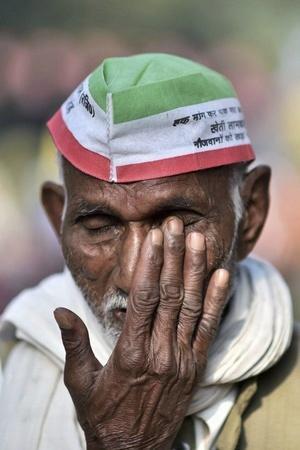 Sanjay Sathe onion produce protest PM Modi farmers protest Nashik Maharashtra
