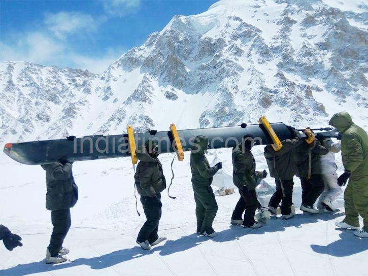 siachen helicopter recovery world record