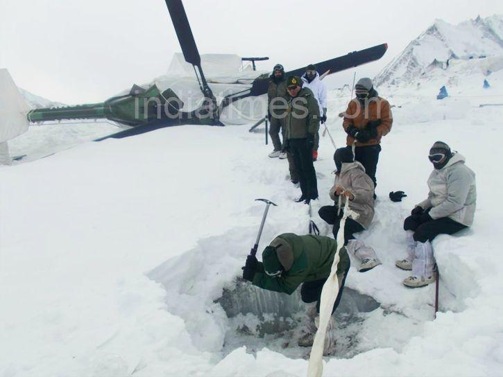 siachen helicopter world record
