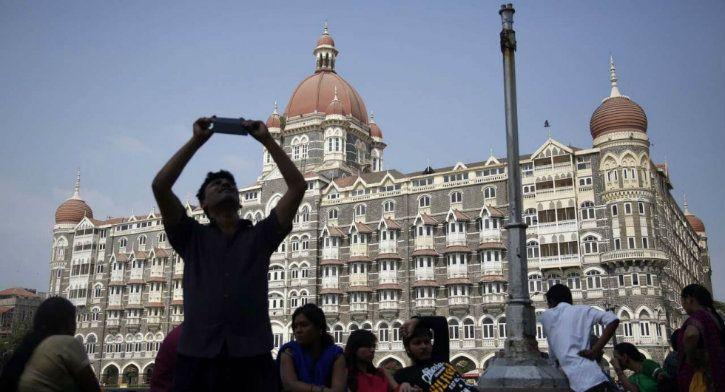 taj mahal hotel reuters image booking.com influencer social media
