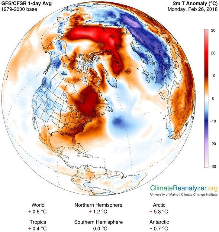 Soaring Temperature At North Pole Stuns Scientists