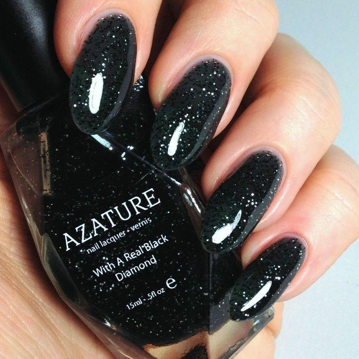 To Reconsider Because A Black Diamond Nail Polish Is Here Break Your Bank Balance Created By Los Angeles Based Luxury Jeweller Azature