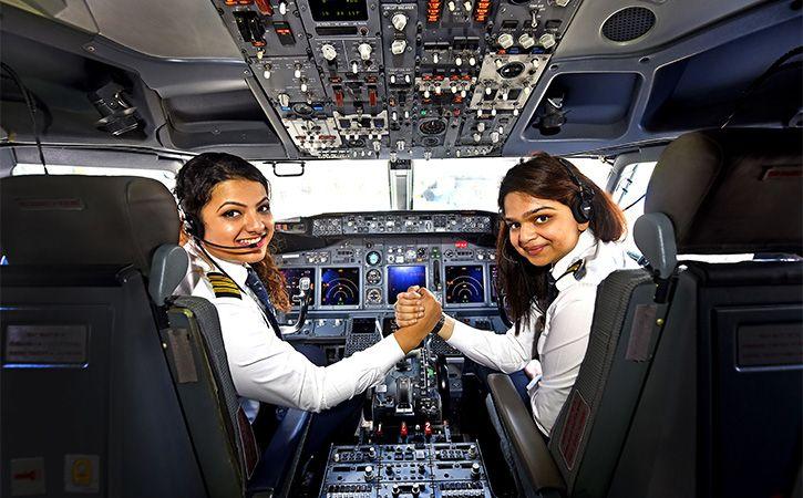 India Has Maximum Women Pilots In The World