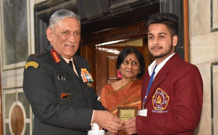Punjab Boy Gets Bravery Award For Saving 15 Kids