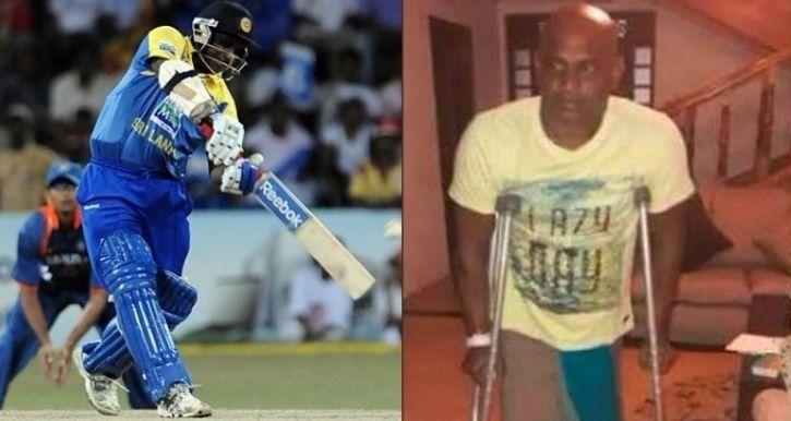 Sanath Jayasuriya was part of the Sri Lankan team which won the 1996 World Cup