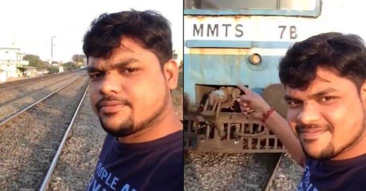 Train Selfie Accident