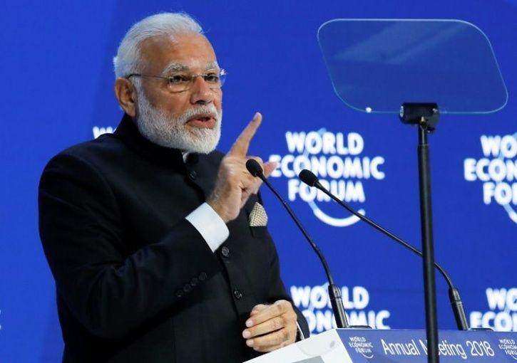 world economic forum pm modi