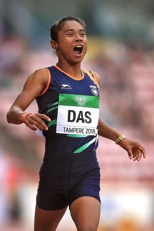 Hima Das athlete IAAF AFI