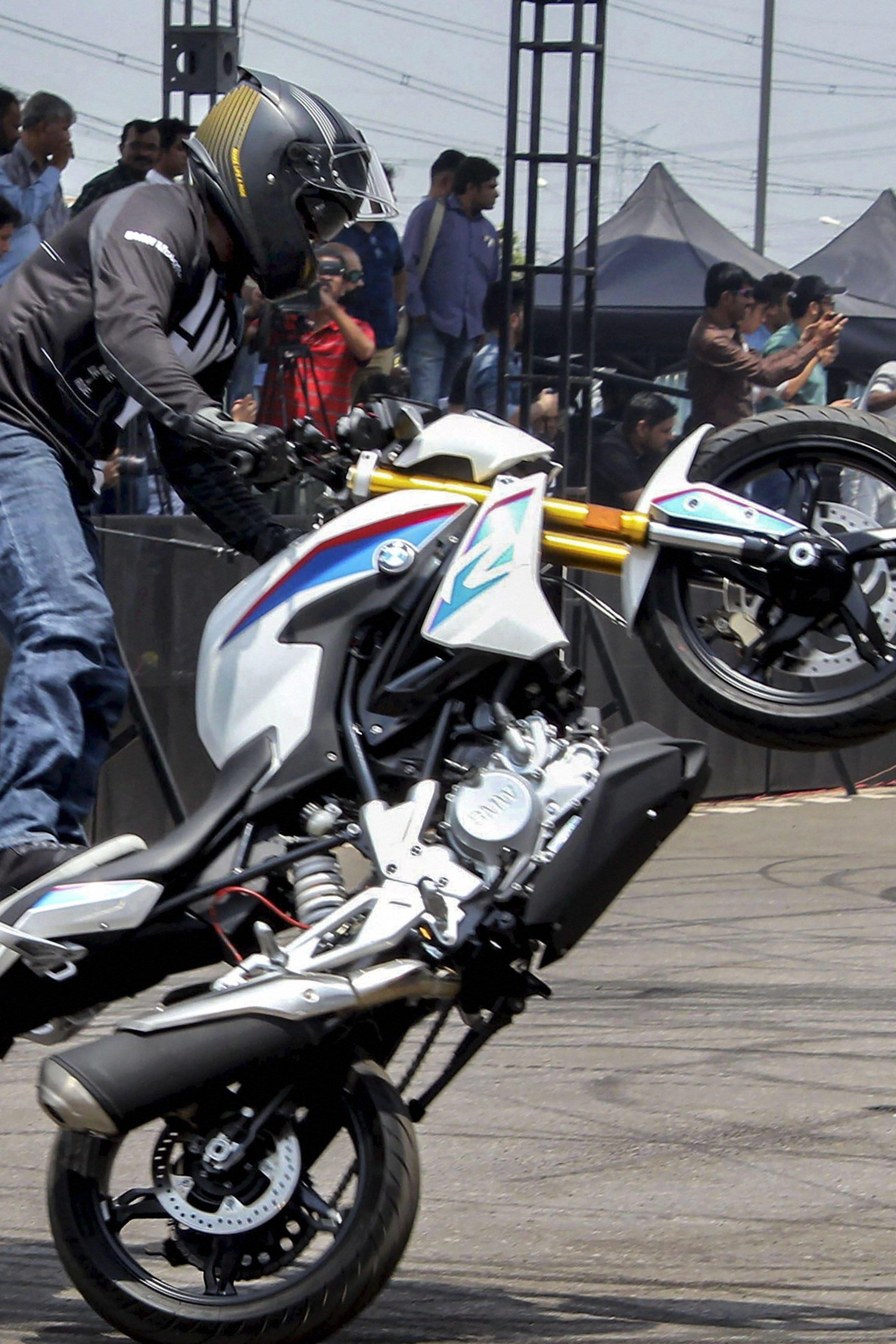 Bmw S First Made In India Motorcycles Launched With A