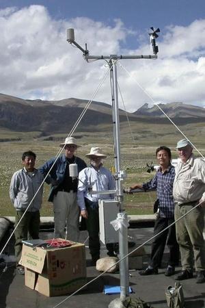 Online Weather Station in tibet
