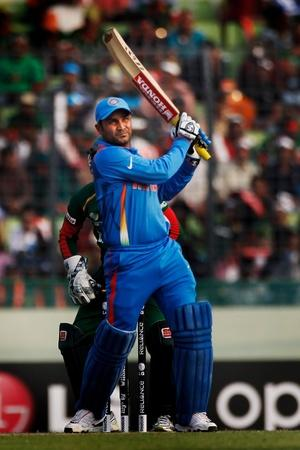 Virender Sehwag could hit the ball hard