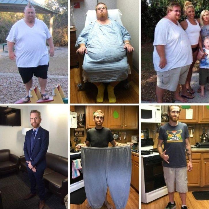 11 Incredible Physical Transformations That Prove Anyone Can Do It