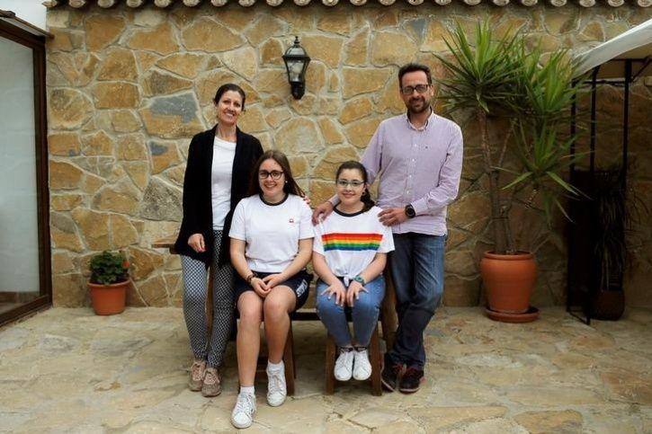 Compas Ponce family, Southern Spain
