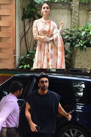 Fashion capital ALia Bhatt Ranbir Kapoor