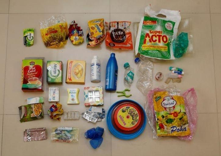 Joshi Family plastic waste