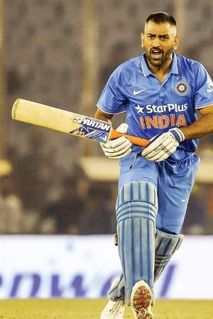 MS Dhoni is the only one to be unbeaten