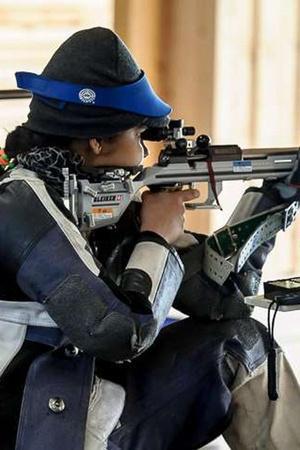 Priya Singh shooting junior world cup