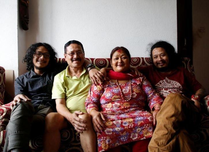 Shrestha family, Nepal