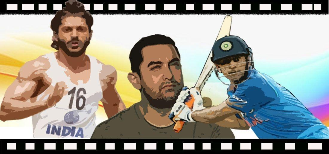 sports movies, fiction, biopics, dangal, m.s dhoni, Bhaag Milkha Bhaag