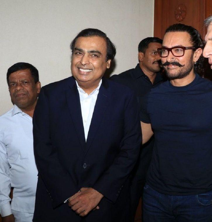 Aamir and Ambani
