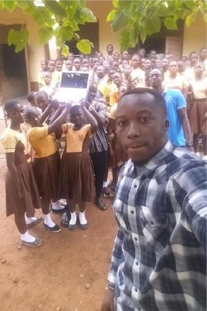 Ghana computer teacher