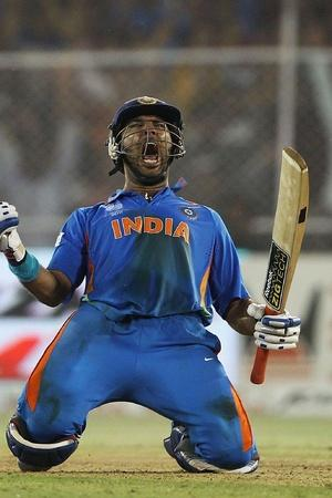 His knock took India into the semis