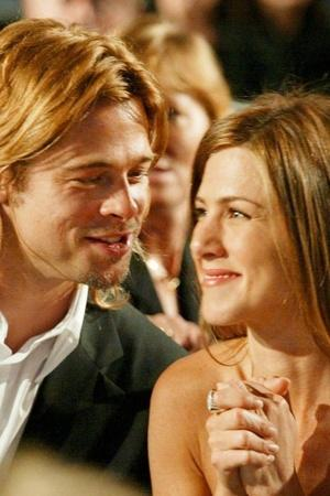 Jennifer and Brad PItt