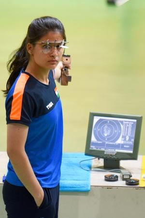 Manu Bhaker Secures 10m Air Pistol Gold At Junior World Cup