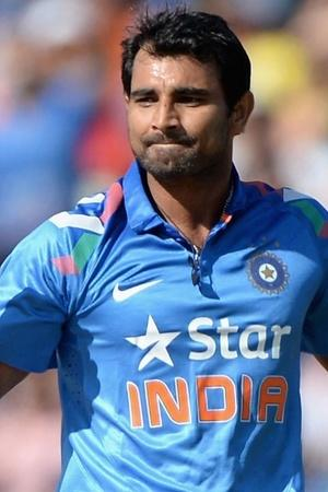 Mohammed Shami has a reason to smile