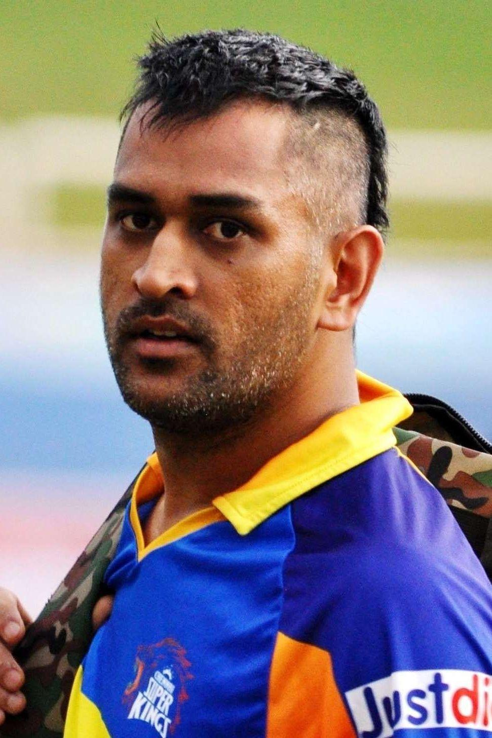 a look at how ms dhoni's fortunes and hairstyles changed during the