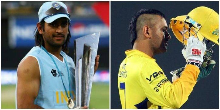 A Look At How Ms Dhonis Fortunes And Hairstyles Changed During The
