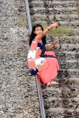 railways selfie