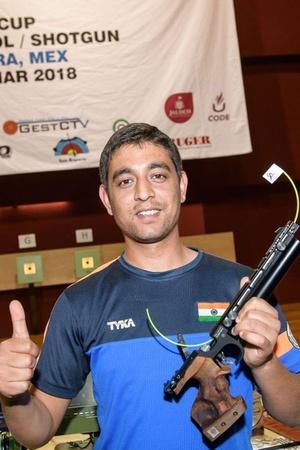 Shahzar Rizvi showed nerves of steel as he clinched gold w