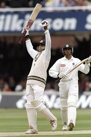 Sourav Ganguly was elegant to watch on the off side